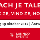 Coach je talent op 19 oktober in Antwerpen