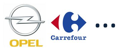 Opel - Carrefour - ...