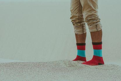 feet folded footwear 10014571