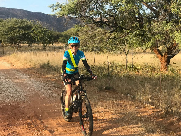 Cycling in Zambia